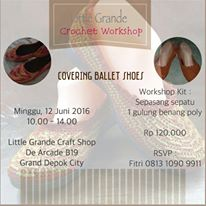 Workshop Covering Ballet Shoes