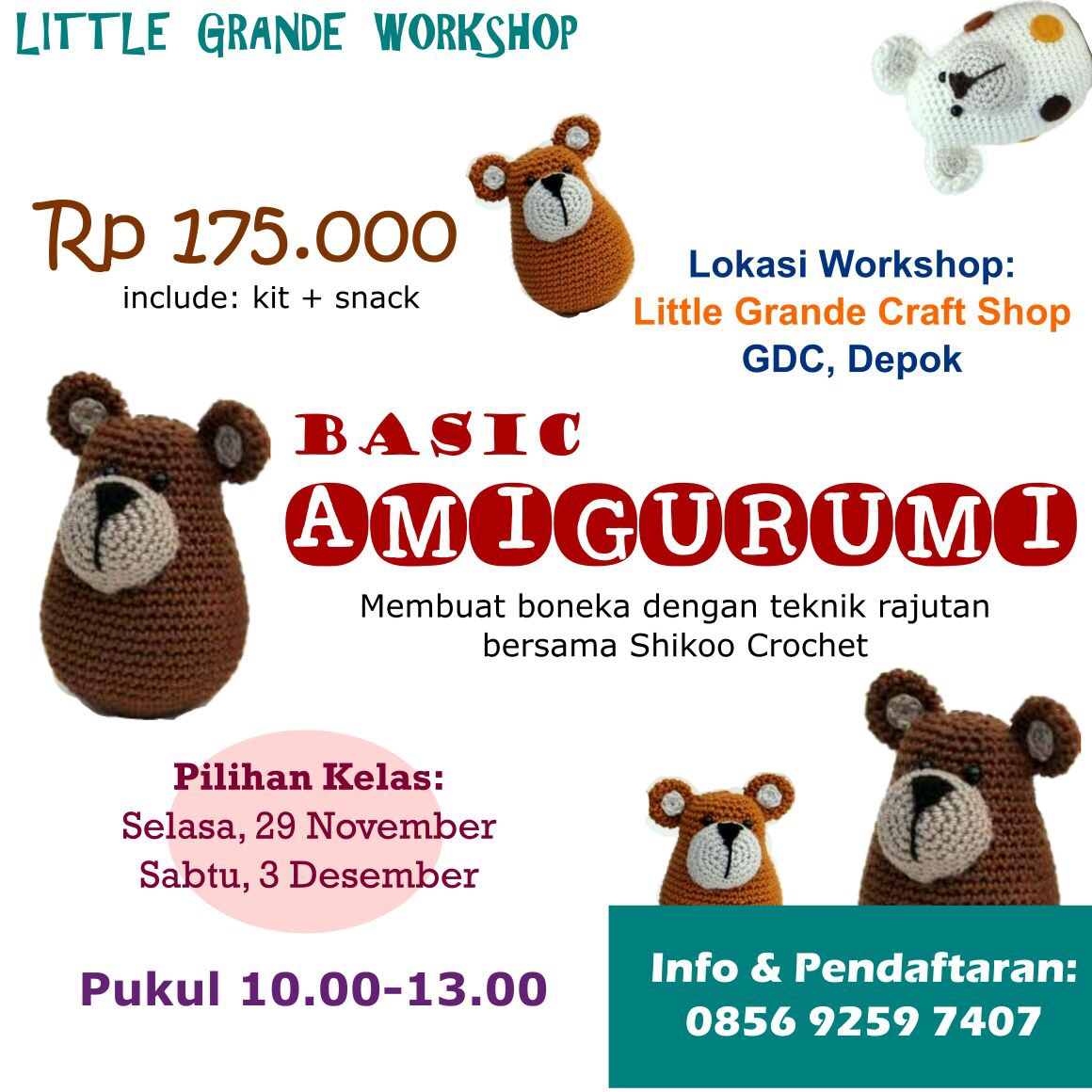 WORKSHOP BASIC AMIGURUMI